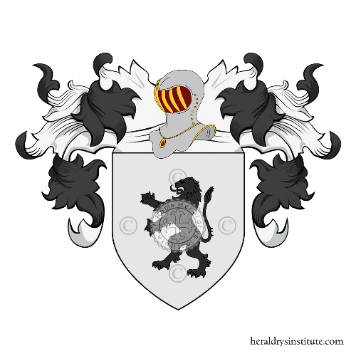 Coat of Arms of family Cumani