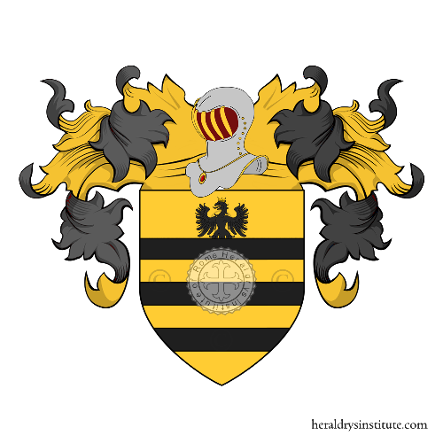 Coat of arms of family Gherardenga