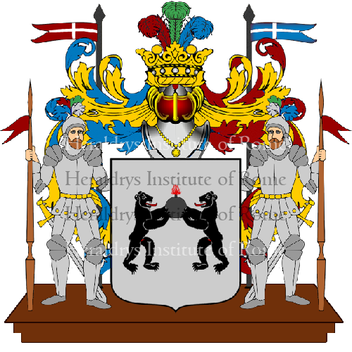 Coat of Arms of family Miccarelli