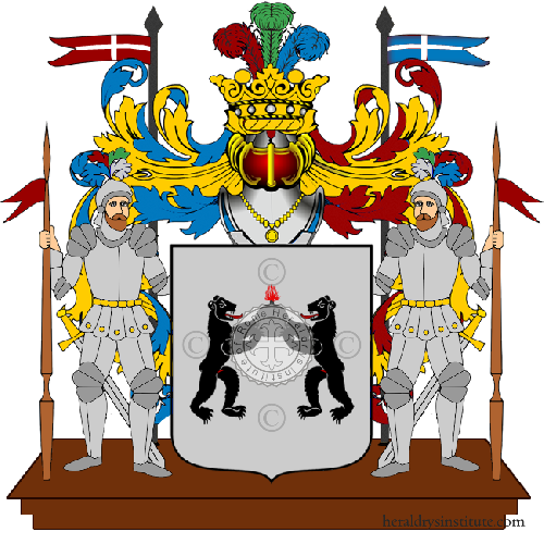 Coat of Arms of family Ziccarelli