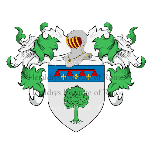 Coat of Arms of family Pinetti