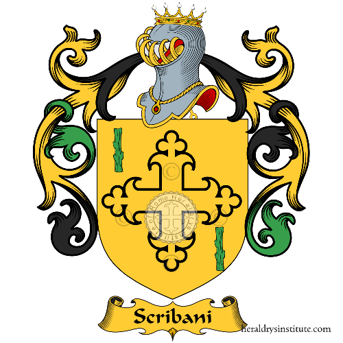Coat of Arms of family Scribani