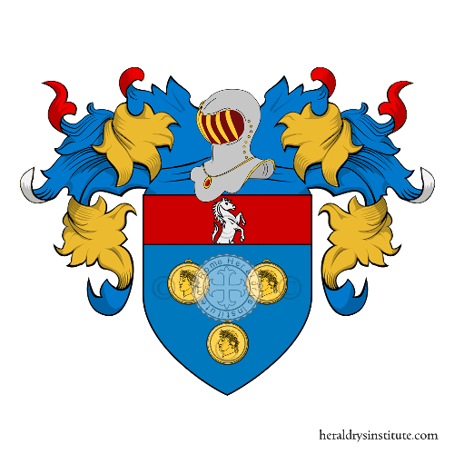 Coat of Arms of family Mellucci
