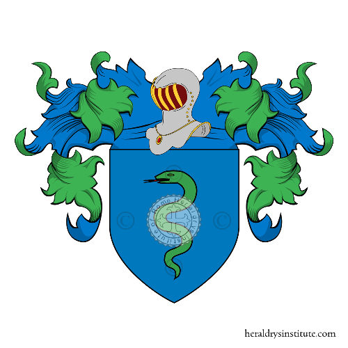 Coat of arms of family Bressanini