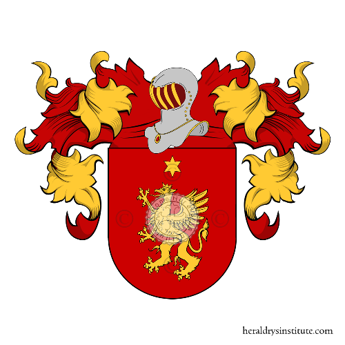 Coat of Arms of family Aguero