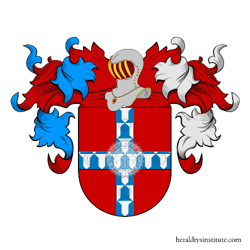 Coat of arms of family Agüero
