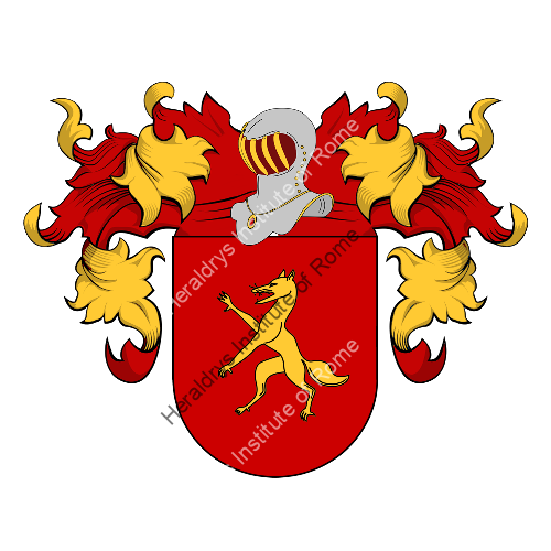 Coat of arms of family Sagio