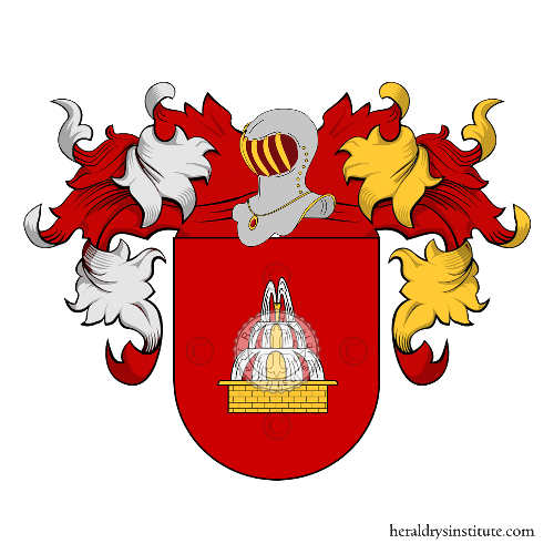 Coat of Arms of family Cazorle