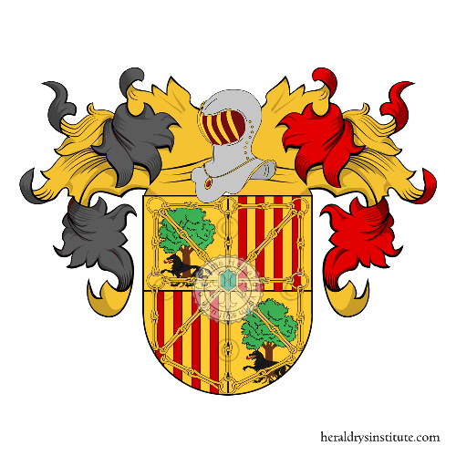 Coat of Arms of family Ilarregui