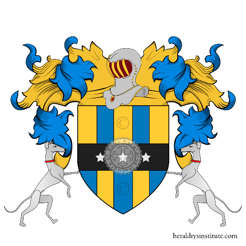 Coat of Arms of family Mellarède