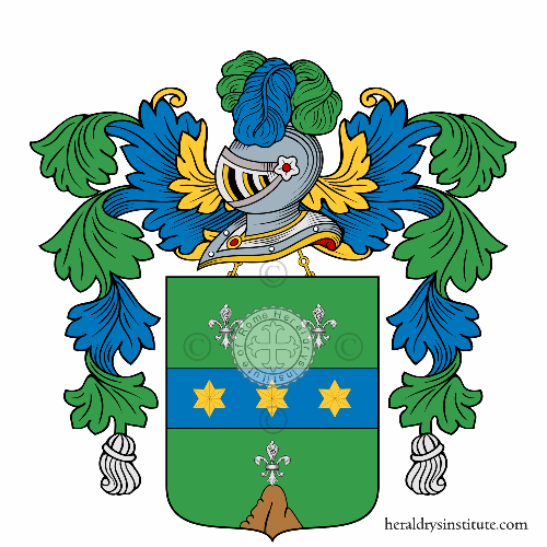 Coat of Arms of family Ziccola