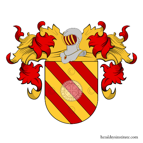 Coat of Arms of family Povil