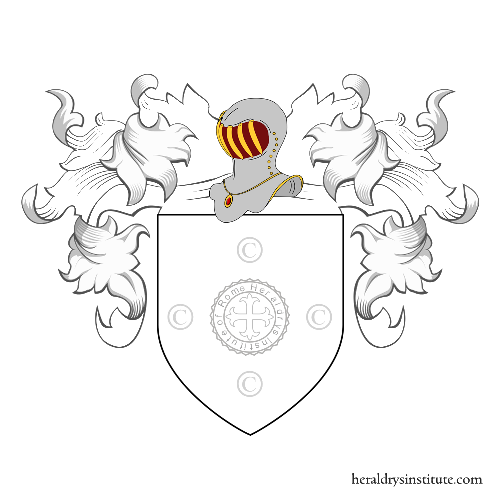 Coat of arms of family Di Giannantonio