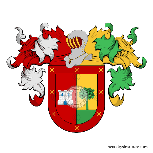 Coat of arms of family Chaparro