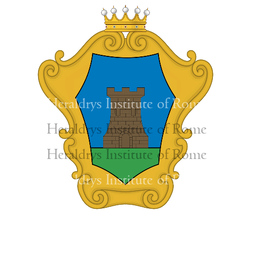 Coat of Arms of family Ciani della Torre