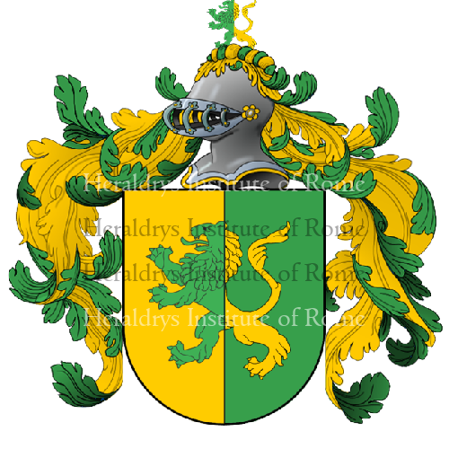 Coat of Arms of family Sanhudo