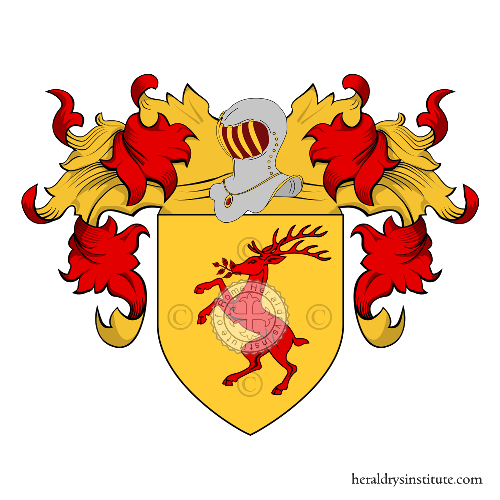 Coat of arms of family Capi di Lista