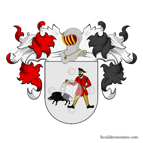 Coat of arms of family Castàn
