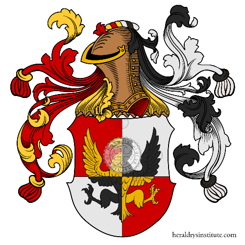 Coat of arms of family Squarcetti