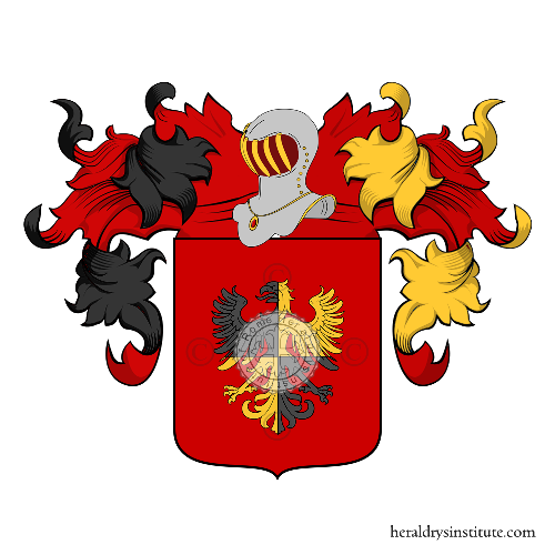Coat of arms of family Cavajoni
