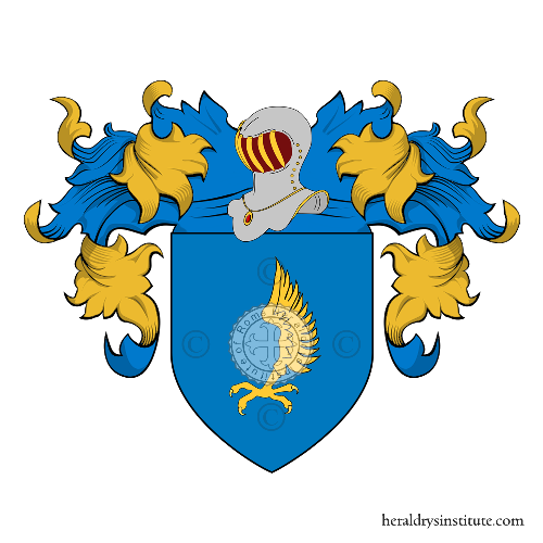 Coat of Arms of family Beccatelli