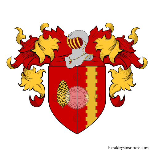 Coat of Arms of family Bonci Casuccini