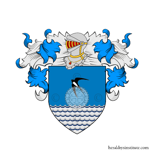 Coat of Arms of family Scilla