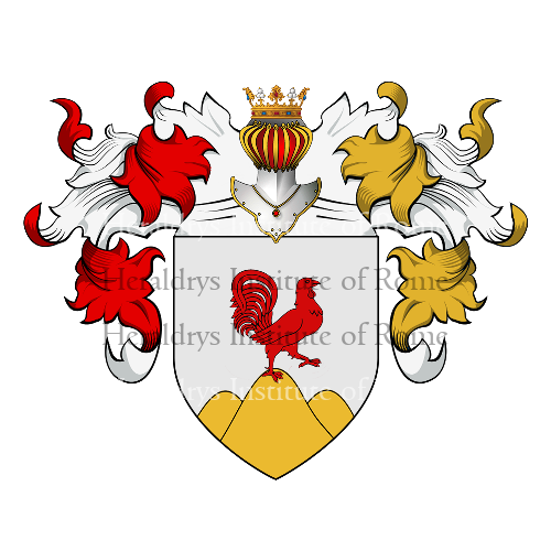 Coat of Arms of family Capone Brancone