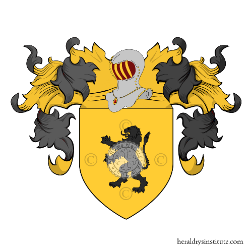 Coat of Arms of family Magnerri
