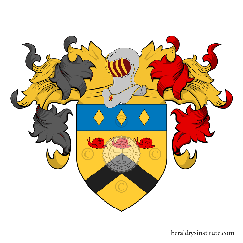 Coat of Arms of family Drouart