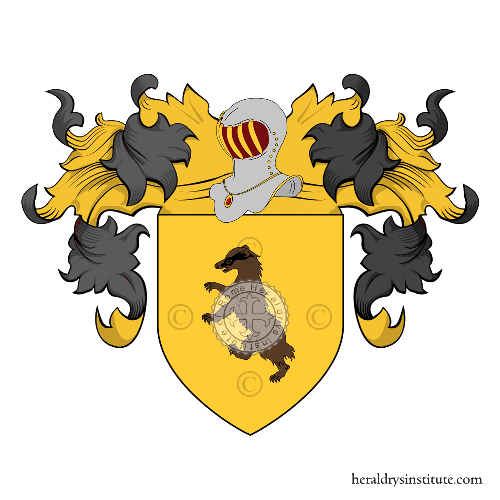 Coat of Arms of family Tassoni