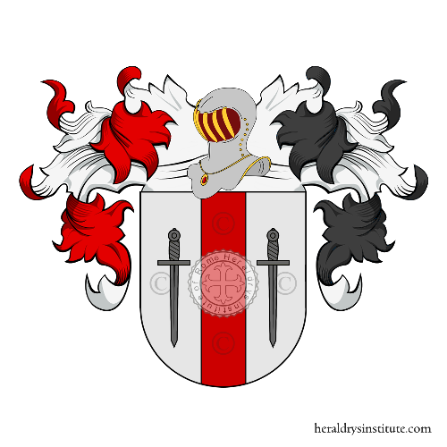 Coat of Arms of family Brusco