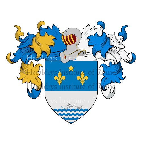 Coat of Arms of family Toninetti
