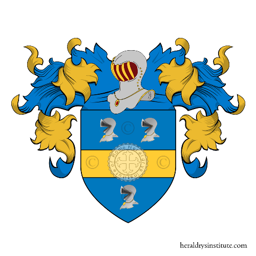 Coat of Arms of family Moletti