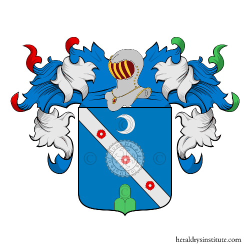 Coat of Arms of family Alvino