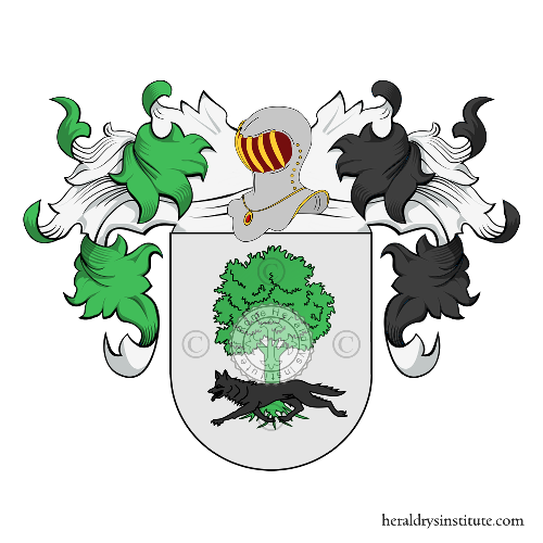 Coat of arms of family Zuquia