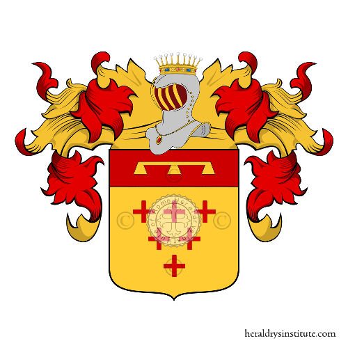 Coat of arms of family Ruggiero