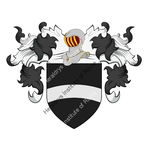 Coat of Arms of family Brazzà