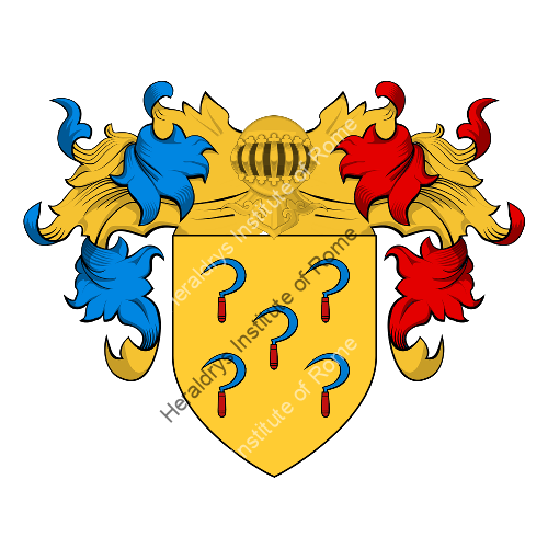 Coat of Arms of family Hozes