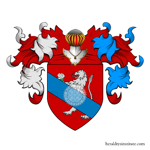 Coat of Arms of family Calcagno