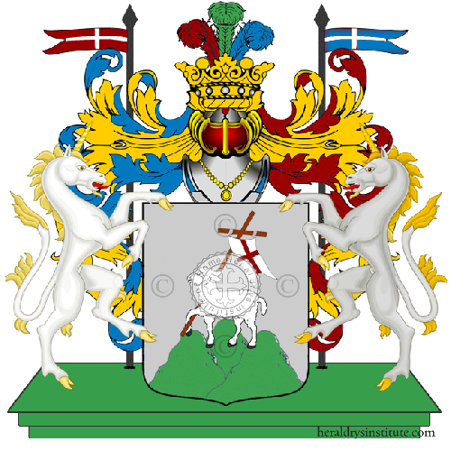 Coat of arms of family Fiotti