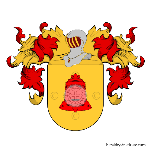 Coat of Arms of family Vicens