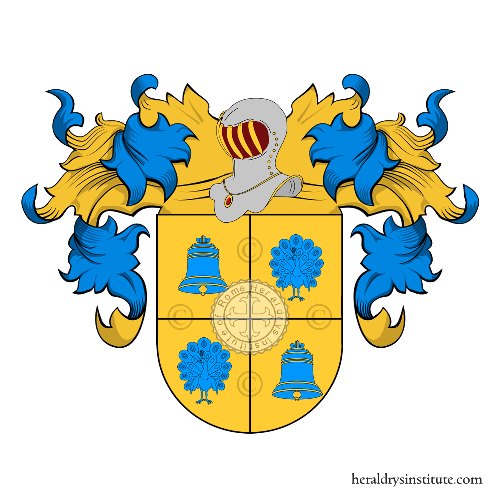 Coat of Arms of family Vicens Pollastres