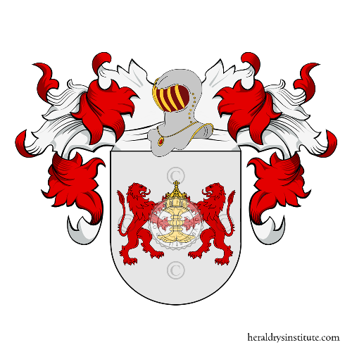 Coat of Arms of family Señas
