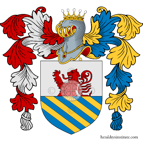 Coat of Arms of family Lazzeri