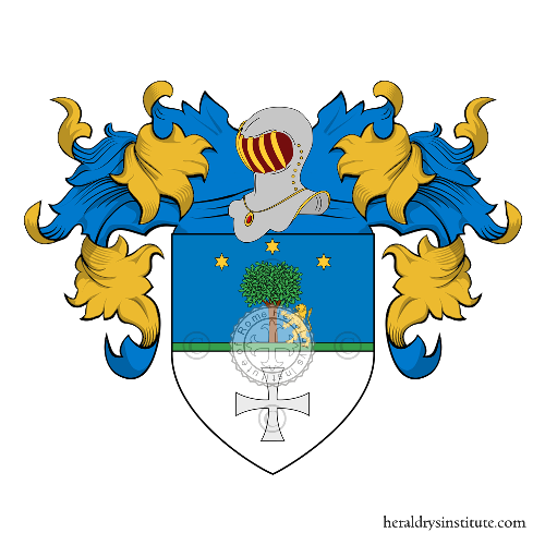 Coat of Arms of family Cusano
