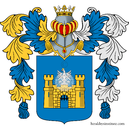 Coat of arms of family de Luca