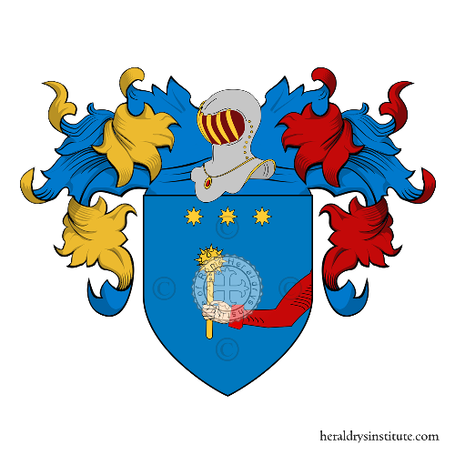Coat of Arms of family Mazzardi