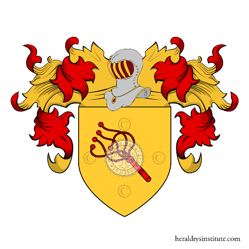 Coat of Arms of family Quona