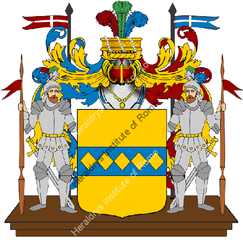 Coat of Arms of family Varenna